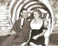 Clar Gable with fifth wife Kay Williams
