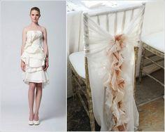 Rüschenkleid Hochzeit