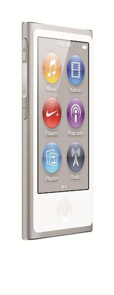 Apple Ipod Nano 7th Generation, 16GB, Silver