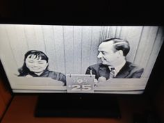 What's My Line? 1956 scene taken from the episode after Fred Allen passed away showing host/moderator John Charles Daly and a contestant.