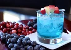 Mixed drinks made with Barefoot Moscato