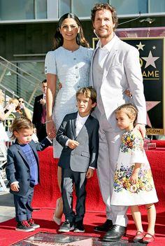 Matthew McConaughey We Are Family Guy Celebrity Dads Camila Alves