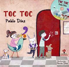 Toc toc, de Pablo Díaz. Outro libro-disco da colección Sonárbore.