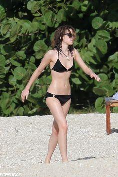 Emma Watson with black one.