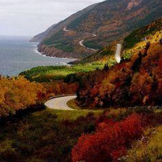 Cabot trail, cape breton island, nova scotia canada in 2019 Cabot Trail, Cape Breton, Celine Dion, Places To Travel, Places To See, Nova Scotia Travel, Discover Canada, Atlantic Canada, Prince Edward Island