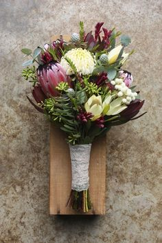 Leucospermum brides bouquet - Google Search