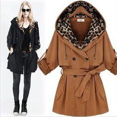 Free Shipping 2013 women autumn trench coat,  OL autumn coat, OL winter trench coat al-buy # 4244 $212.77