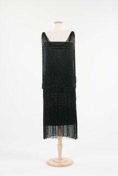 Evening Dress - Coco Chanel, ca.1926-1928 -  The Metropolitan Museum of Art