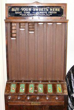 Old Candy Dispenser by Fleur-de-louis, via Flickr