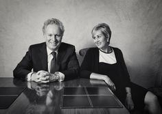 Jean Charest and Michèle Dionne