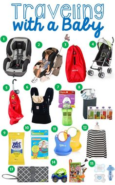 Live and Learn: Baby 101: Traveling with a Baby
