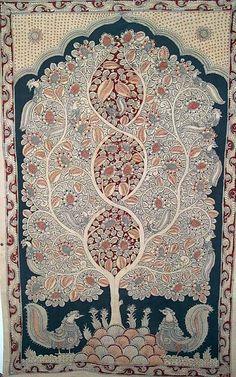 Indian Painting Styles...Kalamkari Paintings (Andhra Pradesh)-tree-of.jpg