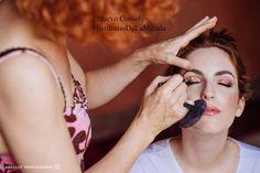 Estilismo de maquillaje de la mirada