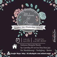 https://nikahgeh.com - E-Invitation Milani & Anggi Tanya-tanya atau info lebih lanjut hubungi : WA : 08561410064 Line : nikahgeh Desain bisa cek di http://nikahgeh.com #weddingserang#undanganserang #infoserang #undanganminimalis #simpleinvitation #testinikahgeh #undanganpernikahanmurah #undangancantik #pesanundangan #invitationserang#kotaserang#undangancilegon #undanganpandeglang#undanganmurah #undanganpernikahan#undanganonline #undangankreatif#undanganunik#nikah…