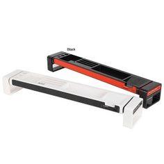 iDesk / Desk Organizer / Smartphone Holder/ Card Reader (with 3Port USB Hub) Black