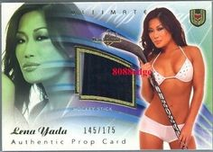 2010 #benchwarmer ultimate hockey #stick #prop: lena yada /175,  View more on the LINK: 	http://www.zeppy.io/product/gb/2/300564826941/