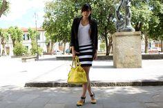Tendenze primavera estate 2013: righe bianche e nereIrenes Closet – Fashion blogger outfit e streetstyle