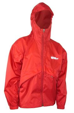 When the rain won't go away, don't let it stop you from having fun at camp! Be prepared with your Thunderlight Rain Jacket. Its lightweight nylon taffeta shell has a durable water repellent finish that's sure to keep you dry. The jacket has an attached hood with visor and zip pockets. The jacket stores in its own left pocket or in the provided stuff sack too, making it easy to take along on a hike or an overnight camp out. Rain Gear, Rain Jacket, Trunks, Windbreaker, Raincoat, Shell, Youth, Pockets, Zip
