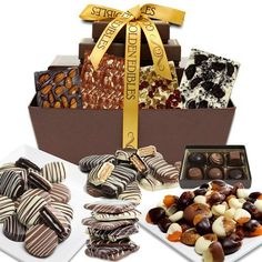 Mega Delectable Chocolate Snacks Fun Gift Basket - There's so much to choose from in the Mega Delectable Chocolate Snacks Fun Gift Basket , you won't know where to begin. Chocolate Covered Graham Crackers, Chocolate Covered Treats, Chocolate Almond Bark, Chocolate Gifts, Chocolate Basket, Chocolate Shop, Belgian Chocolate, Food Gifts, Craft Gifts