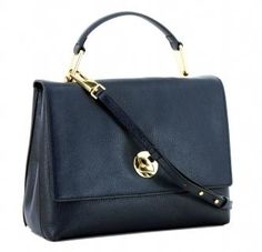!!!Coccinelle Handtasche Leder Liya Medium Überschlag dunkelblau Medium, Bags, Fashion, Ladybug, Leather Satchel, Shoulder, Sachets, Handbags, Moda