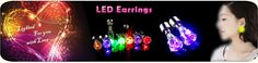 LED Colorful Lights Flashing Earring, View LED Colorful Lights Flashing Earring, OEM Product Details from Shenzhen Great-Favonian Electronics Co., Ltd. on Alibaba.com