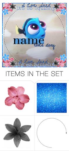 """""""(Open) Dory Icon"""" by icon-wisher ❤ liked on Polyvore featuring art"""
