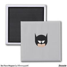 Bat Face Magnet