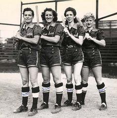 All American Women's baseball league