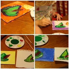 James Barrie - Peter Pan Acrylic art lesson with @iHomeschool Network May Birthday Lessons