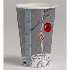 White Winter 12oz Paper Cups 8 Per Pack by Creative Converting. $4.23. Design is stylish and innovative. Satisfaction Ensured.. Manufactured to the Highest Quality Available.. Creative Converting is a leading manufacturer and distributor of disposable tableware including high-fashion paper napkins plates cups and tablecovers in a variety of solid colors and designs appropriate for virtually any event