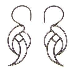 Cherub Wing Earrings Sterling by Méli Jewelry