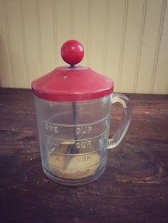 Vintage Hazel Atlas One Cup Food Chopper by BrownandCoReclaimed