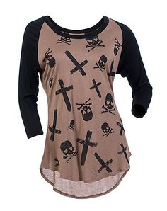 .skulls top from JimmyJazz.com