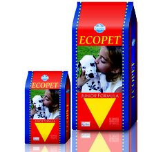 Ecopet Junior Formula Dog Food 3kg only at Rs. 1,150  order now from www.dogspot.in