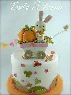 AUTUMN - by tortediivana @ CakesDecor.com - cake decorating website