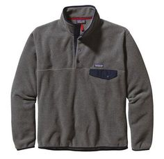 aeb1a32f6e3531 Patagonia Men s Lightweight Synchilla® Snap-T® Fleece Pullover