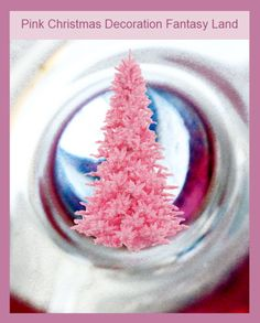 Are you thinking of a pink Christmas? Pink Christmas Tree Decorations, Different Christmas Trees, Pink Christmas Ornaments, Holiday Themes, Holiday Decor, Everything Pink, Cute Little Girls, Hot Pink, Projects To Try