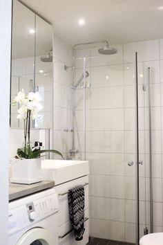 Homevialaura | modern bathroom | home spa | Ikea Godmorgon | Missoni Home
