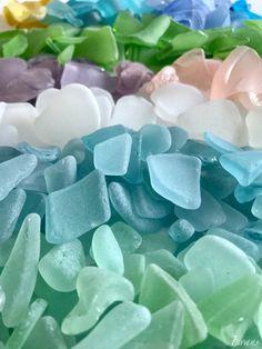 Sea Glass Mosaic, Sea Glass Beach, Sea Glass Art, Favorite Pastime, Happy Spring, Glass Collection, Pebble Art, Seashells, Sea Creatures