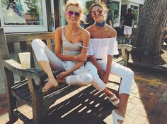 Victoria's Secret Angels Taylor Hill and Romee Strijd Have BFF Twinning Style - Vogue