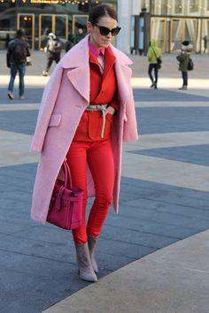 Tapado rosa, última moda.