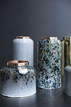 Vases en cuivre (Korea Craft & Design Foundation)