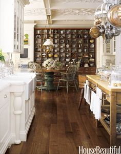 beautiful collected kitchen