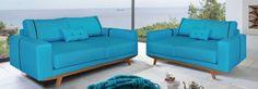 Μοντέρνο design και μοναδική ποιότητα για χώρους με ιδιαίτερο στυλ με αυτό το σετ τριθέσιου και διθέσιου καναπέ. Το πετρόλ με τις καφέ λεπτομέρειες και το καρυδί ξύλο καθιστούν το σετ εξαίσια επιλογή για μικρούς χώρους που έχουν ανάγκη από έξτρα φωτεινότητα. #epiplaki #sofa #furniture #design #moderndesign Couch, Furniture, Home Decor, Decoration Home, Room Decor, Sofas, Home Furniture, Sofa, Interior Design