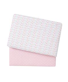 Mothercare Little Lane Jersey Cotbed Sheets - 2 Pack