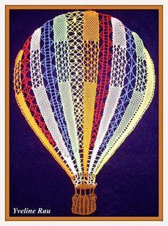 klasgenoten Lace Balloons, Bobbin Lacemaking, Bobbin Lace Patterns, Lace Heart, Lace Jewelry, Needle Lace, Lace Making, Lace Design, Loom Knitting