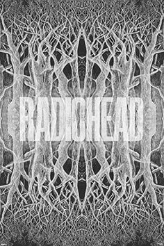 Radiohead King of Limbs Poster - 12x18
