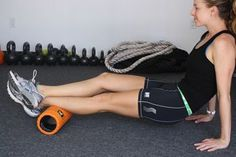 10 Self-Myofascial Release Exercises for Runners #running #myofascial