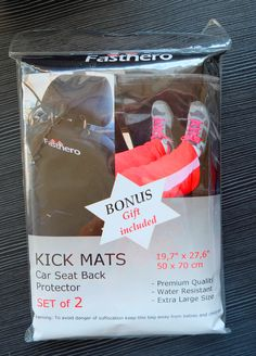 ★ BONUS - SPECIAL GIFT is included in 2-pack car kick mats FOR YOU. You get a QUALITY CLOTH for CLEANING parts of your car with dimensions 11.8 x 11.8 inches. The material of cloth is superfine fiber fabric.