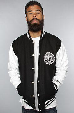 The IHE Varsity Jacket by Cashletes, $250